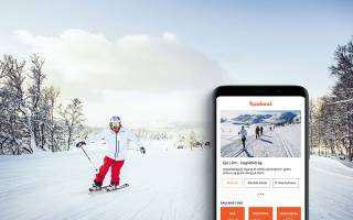 Download Rauland app. Foto: Rauland skisenter
